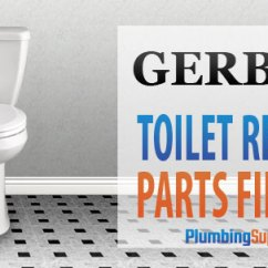 Kitchen Drain Pipe Repair Cherry Cabinets Gerber Toilets - Identify Your Toilet And Find Parts