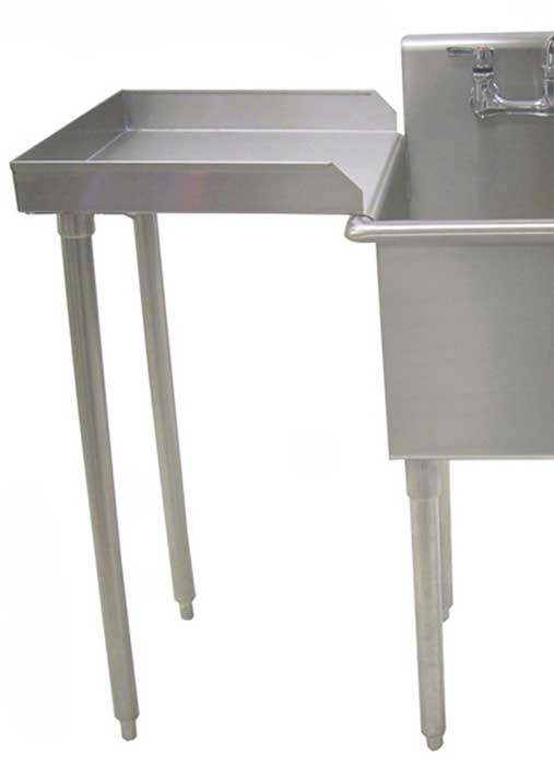 oversized extra deep stainless steel