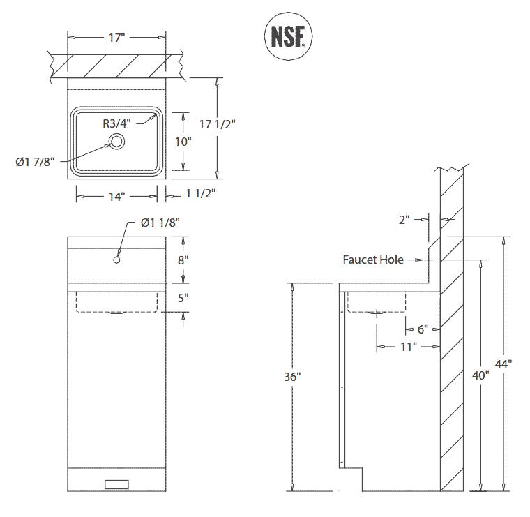 Floor Plan Ada Bathroom Dimensions
