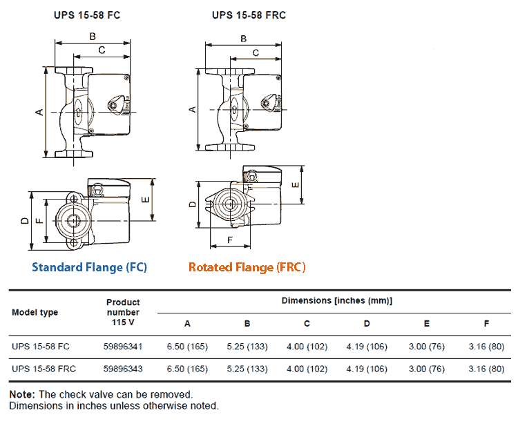 grundfos ups15 58 fc and ups15 58 frc specs dims grundfos wiring diagram alpha wiring diagram, viking wiring wiring diagram jandy shpf 1.0-2 at edmiracle.co