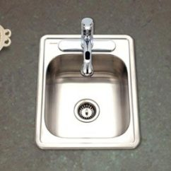 Rv Kitchen Sink Cast Iron Sinks For Boats Trailers S Small Compact Marine Rectangular 22 Gauge Stainless Steel 1722 7bs 1