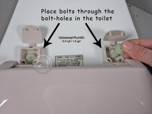 How to install standard  regular toilet seats