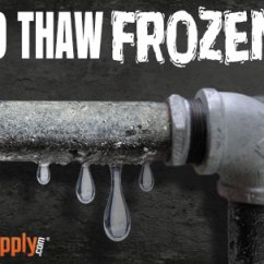 Gerber Kitchen Faucet Cabinets Sarasota How To Thaw Frozen Pipes