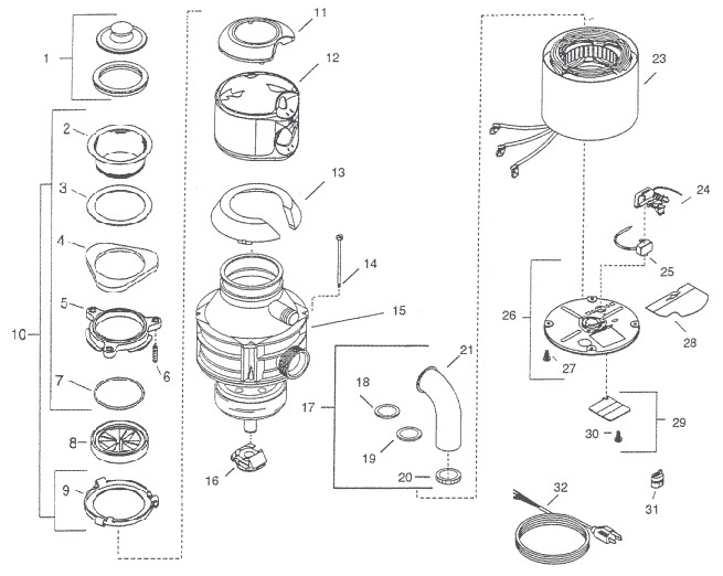 Insinkerator model 444
