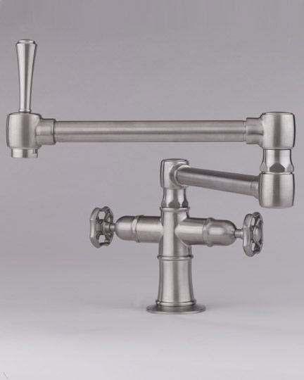 articulating kitchen faucet how to plan a remodel steam valve original mono block faucets