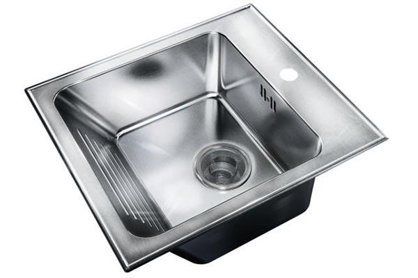 thermocast acrylic washboard laundry sink