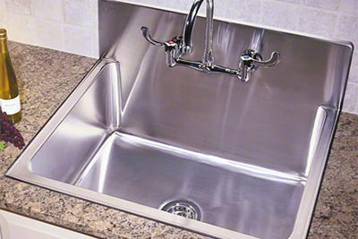 commercial kitchen faucet cabinet carpenter culinary/gourmet stainless steel sinks