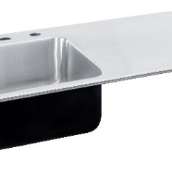 Kitchen Sinks With Drain Boards Formica Countertops Cost Ada Compliant Drainboards Stainless Steel Image Of Right Side Drainboard Sink