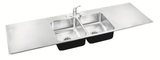 ada compliant sinks with drainboards