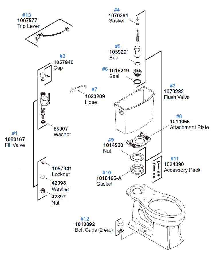 Kohler Toilets Parts Diagram, Kohler, Free Engine Image