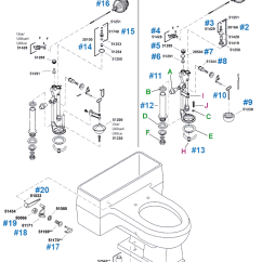 Toilet Repair Parts Diagram Duct Detector Wiring Pompton Series By Kohler Order New Fill Valves