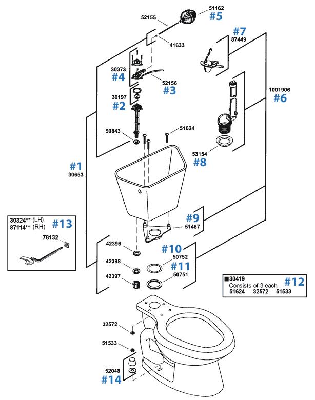 Kohler K91 Parts