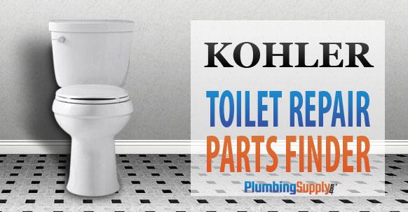 Kohler Toilet Identification Pictures and Repair Parts