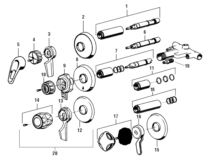 kohler shower valve parts diagram problem solving using venn tub/shower not working - doityourself.com community forums