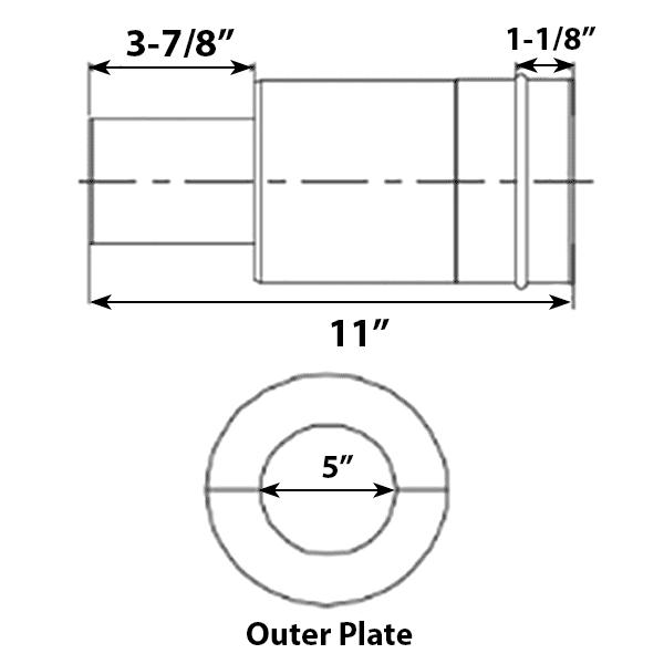 medium resolution of cvts straight pipe