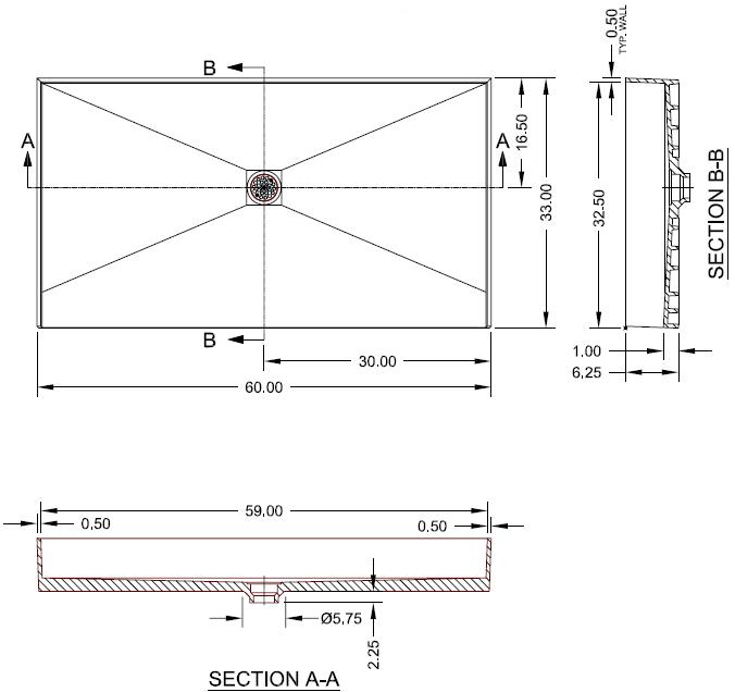 Standard Bathtub Drain Dimensions