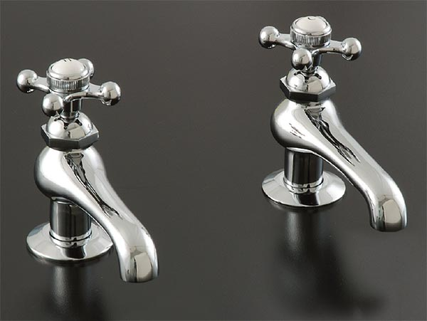 old style single tap basin faucets
