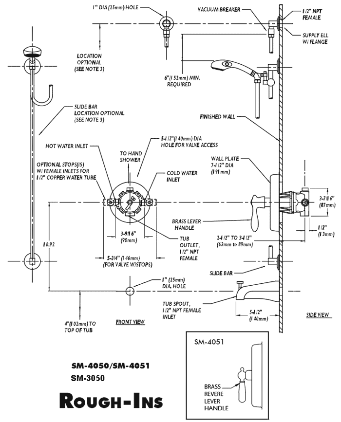 toilet flange diagram wiring for huskee lawn tractor ada compliant hand held, slide bar shower systems