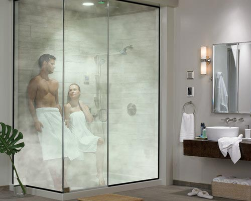 Steamist Steam Showers Controls and Total Sense Spa