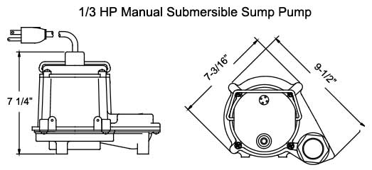 Submersible Sump Pumps