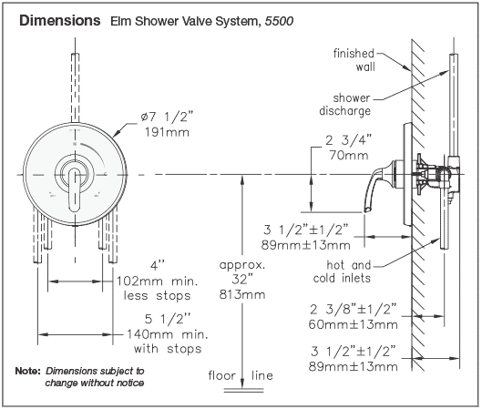 Symmons Temptrol Shower Valve Parts Diagram Wiring