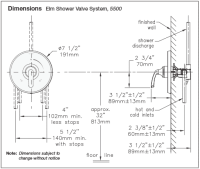 Symmons Temptrol Shower Valve Parts Diagram Wiring ...