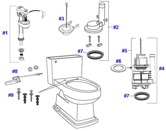 Help With Housing: Toto Parts
