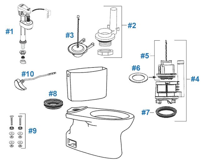 toto parts diagram
