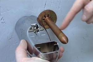 how to install tub spouts