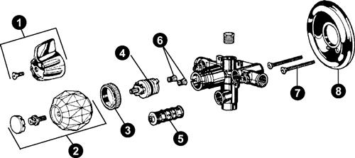 Delta Faucets Parts Diagram