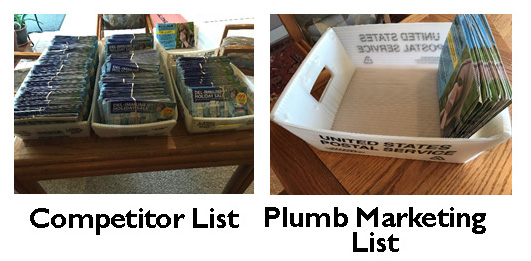 direct mail list example