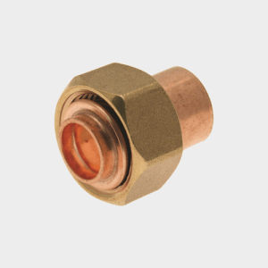 Solder Ring Straight Tap Connector 22mm x 3/4""