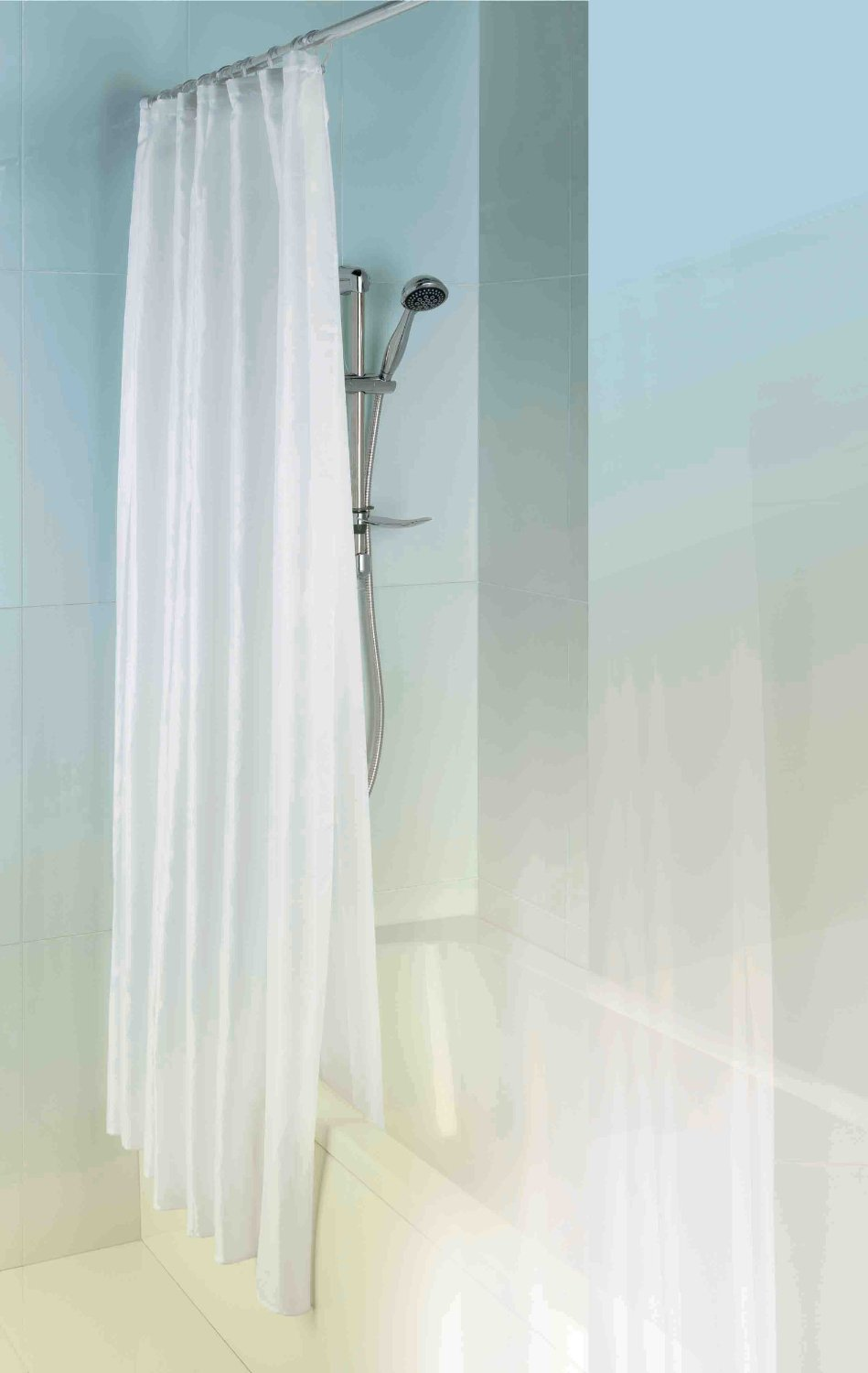 MX Shower Curtain Double Layer 1800mm x 1800mm Polyester