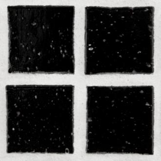 lacava mosaic glass tile in black 3