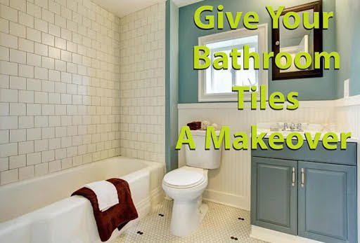 give your bathroom tiles a makeover