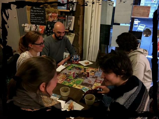 Après-midi jeux de société avec La Cave à Jeux