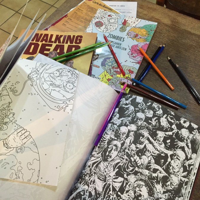 Coloriage zombies