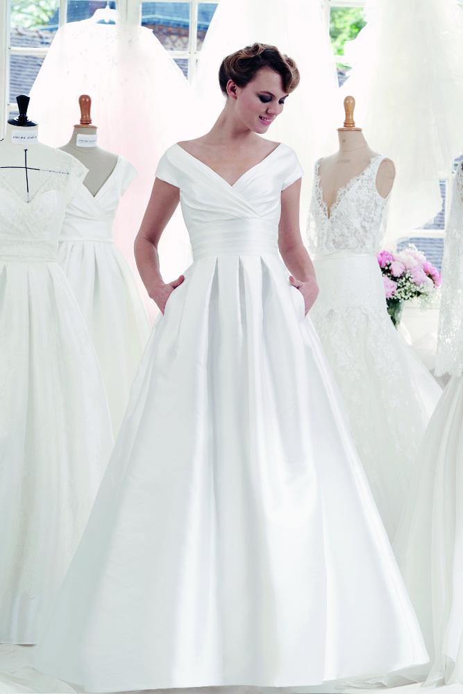 Robe de mariée Atelier Emelia Aglaé