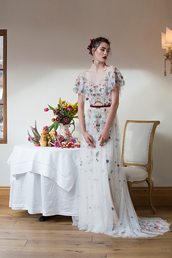 Robe de mariée Watters Heartleaf
