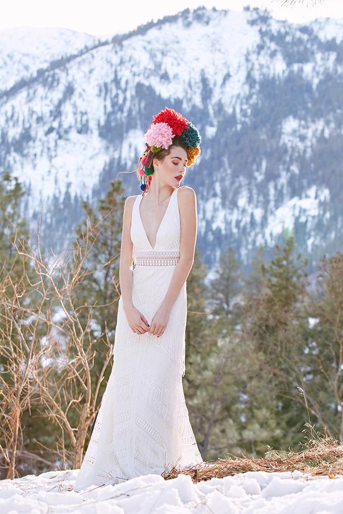Robe de mariée Watters Woodrose