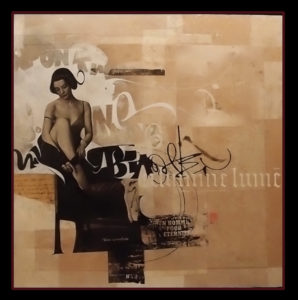 Stages de calligraphie et enluminure, Belle du soir, Laurent Pflughaupt