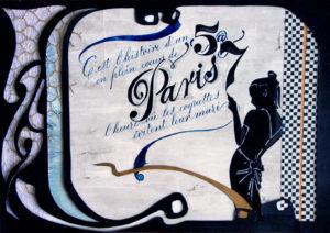 Céline Foissey, stage, calligraphie