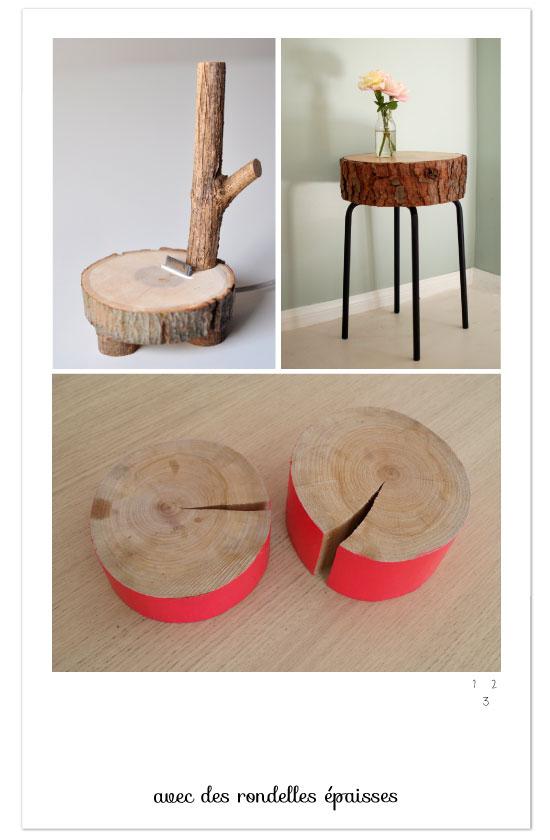 diy rondelle bois