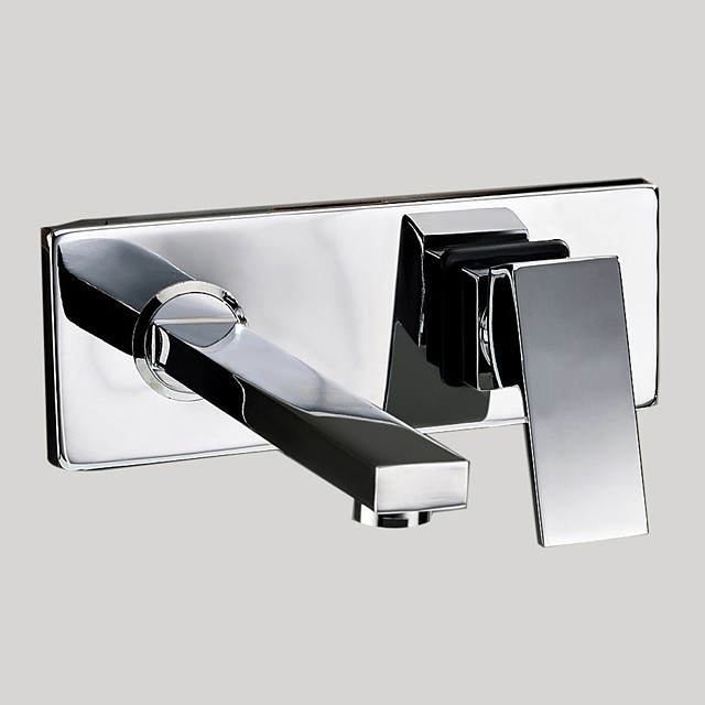 bathroom sink faucet standard wall mount chrome wall mounted two holes single handle two holes bath faucet