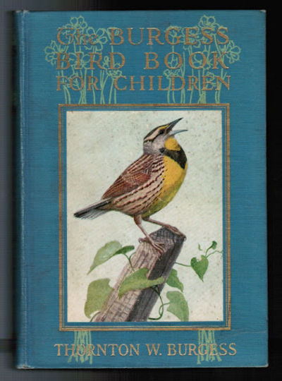 Burgess Bird Book Plumfield And Paideia