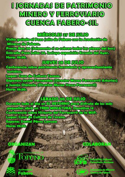 Jornadas de Patrimonio Minero y Ferroviario
