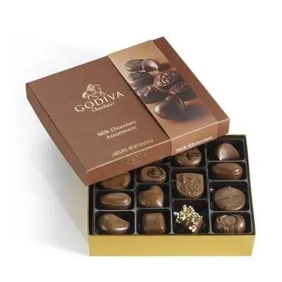 Godiva Small Milk Chocolate Assortment 6.8oz