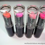 Currently Loving: Wet 'n Wild Megalast Lipsticks