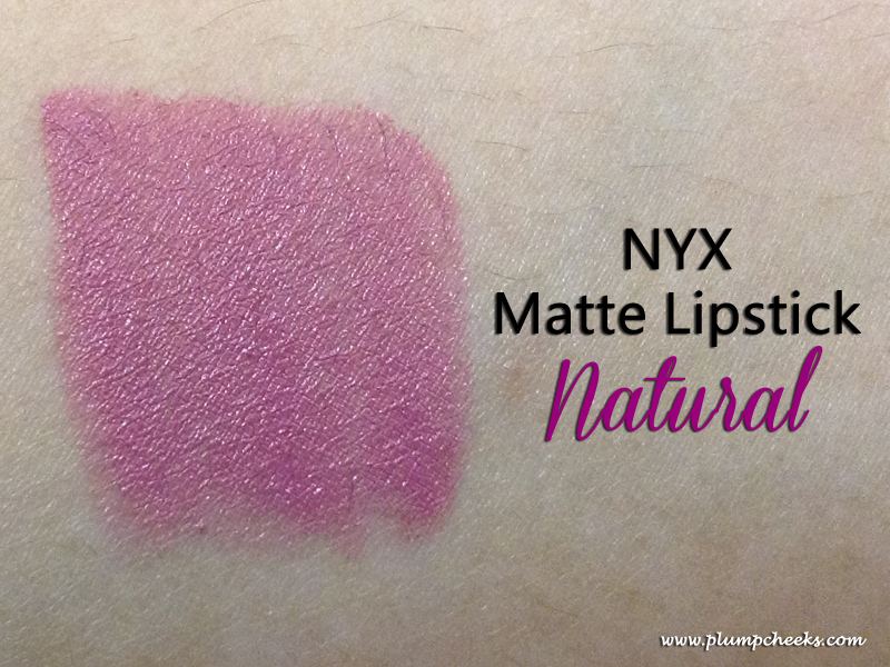 NYX MLS Natural Swatch