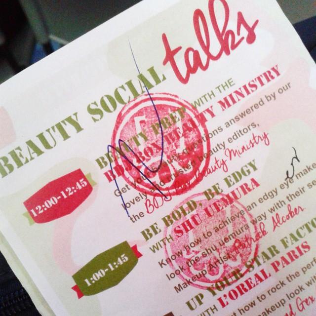 BDJ Box Beauty Social
